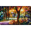 "Picture Perfect International ""The Soul of Night"" by Leonid Afremov Painting Print on Wrapped Canvas"