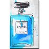 "Picture Perfect International ""Chanel Parfum 9"" by BY Jodi Painting Print on Wrapped Canvas"