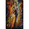 "Picture Perfect International ""Queen of Fire"" by Leonid Afremov Painting Print on Wrapped Canvas"
