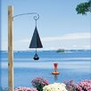 Original and Authentic Maine Boothbay Harbor Wind Bell with Buoy Windcatcher - North Country Wind Bells Garden Statues and Outdoor Accents