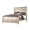 Fairfax Home Collections Champagne Panel Bed