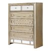 Fairfax Home Collections Champagne 6 Drawer Chest