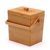 RSVP-INTL 0.15 cu. ft. Bamboo Compost Pail