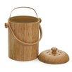 RSVP-INTL Bamboo 0.10 cu. ft. Compost Pail