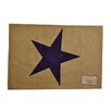 Mabelle Home Collection Star Placemat (Set of 6)