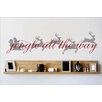 Design With Vinyl Jingle All the Way Wall Decal