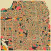 Monde Mosaic San Francisco by Jazzberry Blue Graphic Art