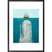 DE Monde Mosaic Gerahmter Kunstdruck The Whale von Terry Fan