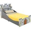 KidKraft Medieval Castle Convertible Toddler Bed