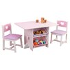 KidKraft Heart Kids 7 Piece Table & Chair Set