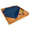 KidKraft Backyard 5' Square Sandbox with Cover
