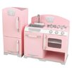 KidKraft 2 Piece Retro Kitchen and Refrigerator Set