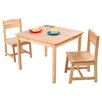 KidKraft Aspen Kids 3 Piece Table and Chair Set