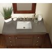 """Ronbow TechStone™ WideAppeal™ 48"""" x 22"""" Vanity Top in Stone Gray  - 4"""" Thick"""