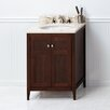 "Ronbow Briella 24"" Bathroom Vanity Cabinet Base in American Walnut"