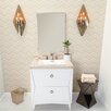 "Ronbow Lexie 30"" Single Bathroom Vanity Set with Mirror"