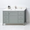 """Ronbow Briella 48"""" Bathroom Vanity Cabinet Base in Ocean Gray"""