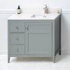 """Ronbow Briella 36"""" Bathroom Vanity Base in Ocean Gray"""