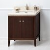 "Ronbow Sophie 30"" Bathroom Vanity Cabinet Base in American Walnut"