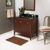 """Ronbow Sophie 36"""" Bathroom Vanity Cabinet Base in American Walnut"""