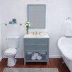 "Ronbow Newcastle 30"" Single Bathroom Vanity Set with Mirror"