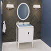 "Ronbow Zoe 24"" Single Bathroom Vanity Set with Mirror"