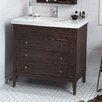 "Ronbow Laurel 36"" Bathroom Vanity Cabinet Base in Vintage Café"