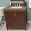 "Ronbow Briella 30"" Bathroom Vanity Cabinet Base in American Walnut"