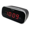 """Timex Alarm Clock with 0.7"""" Red Display"""
