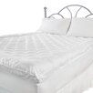 Cozy Bed Deluxe Fiberbed 300 Thread Count Cotton Top Mattress Pad