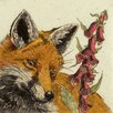 AnnabelLangrish Foxy by Annabel Langrish Graphic Art