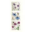"""AnnabelLangrish 3-tlg. Schild-Set """"Flowers"""" von Annabel Langrish, Kunstdruck"""