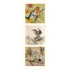 AnnabelLangrish Birds by Annabel Langrish 3 Piece Graphic Art Set