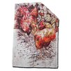 AnnabelLangrish Hens Wall Tea Towel