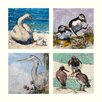 AnnabelLangrish Sea Birds by Annabel Langrish 4 Piece Graphic Art Set