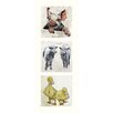 AnnabelLangrish Farmyard by Annabel Langrish 3 Piece Graphic Art Set