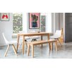 OutAndOutOriginal Sebastian Dining Table and 4 Chairs and Bench