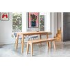 OutAndOutOriginal Victor Dining Table and 2 Chairs and Bench