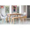 OutAndOutOriginal Victor Dining Table and 4 Chairs and Bench