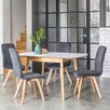 OutAndOutOriginal Berrick Extendable Dining Table and 4 Chairs