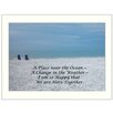 Trendy Decor 4U 'A Place Near the Ocean' by Millwork Engineering Framed Photographic Print