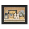 Trendy Decor 4U Warm Towels by Carrie Knoff Framed Painting Print