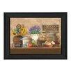 Trendy Decor 4U Antique Kitchen by Ed Wargo Framed Painting Print