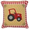 Win Green Barn Throw Pillow Cover