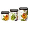 Intrada Italy Vivere 3 Piece Canister Set