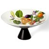 Intrada Italy Vivere Fruit Tree Footed Plate