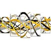 Design Art HelixExpression Abstract 5 Piece Graphic Art on Wrapped Canvas Set