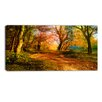 Design Art Beauty of Nature Landscape Painting Print on Wrapped Canvas