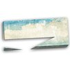 Design Art Sky on Wall Texture Abstract Painting Print on Wrapped Canvas