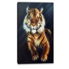 Design Art Mighty Tiger Animal Graphic Art on Wrapped Canvas